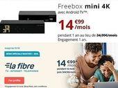 Freebox Mini 4k ou Bbox Must : le match des box fibre à moins de 15 euros
