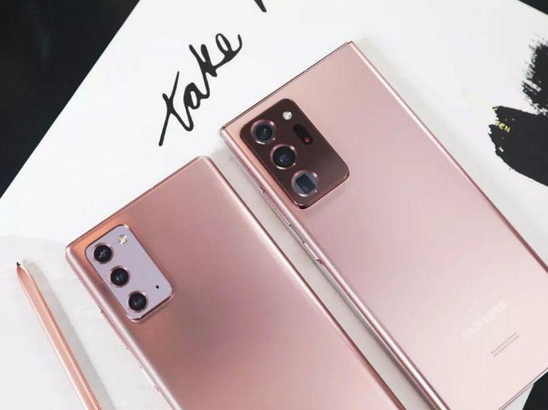 Samsung Galaxy Note 20 et Note 20 Ultra : vidéo 8K et méga zoom au programme