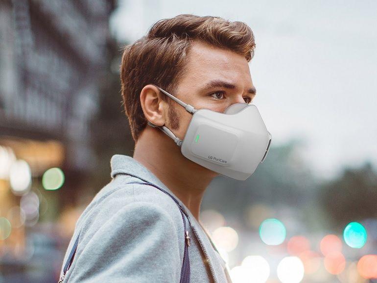 LG PuriCare : les avantages du masque domestique réutilisable, sans les inconvénients ?