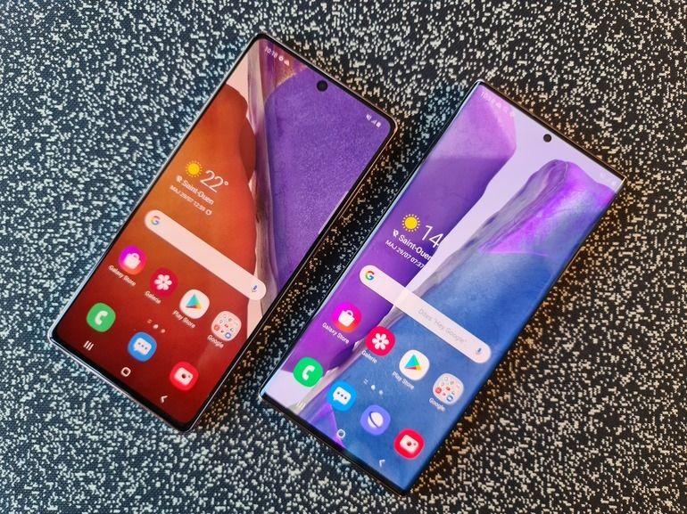 Galaxy Note 20 et Note 20 Ultra officiels : des smartphones au service de votre productivité