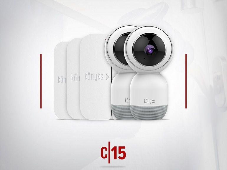 Jeux concours 15 ans : CNET France vous offre un pack sécurité Konyks (caméras + détecteurs)