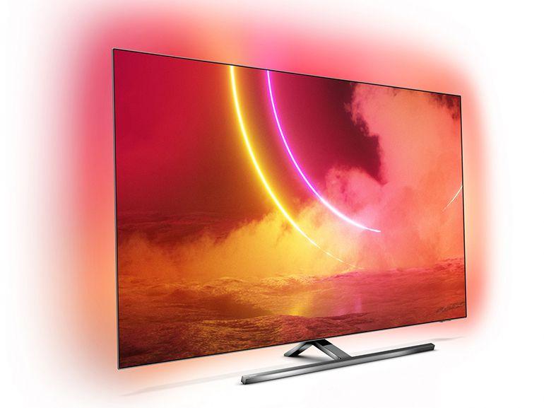 Philips lance ses TV OLED805 et 855, avec une dose d'IA et une nouvelle télécommande