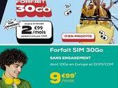 Forfait 30 Go à partir de 3 euros : qui choisir entre La Poste Mobile et NRJ Mobile ?