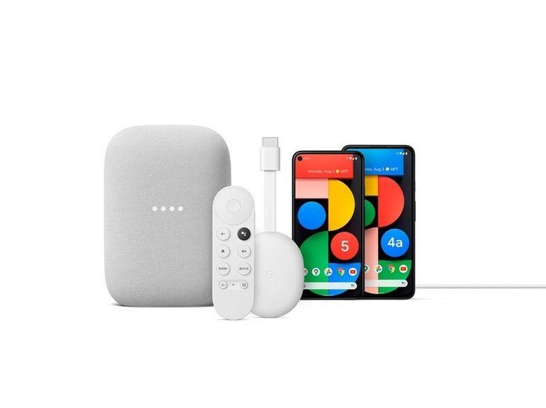 Pixel 5, Chromecast avec Google TV, Nest Audio : toutes les annonces de Google