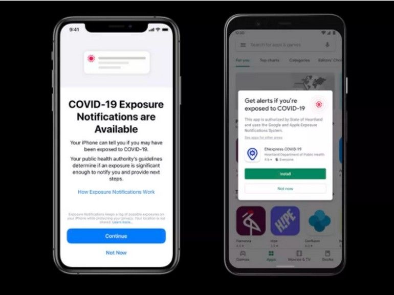 Apple introduit iOS 13.7 avec le traçage des contacts intégré pour lutter contre la Covid-19