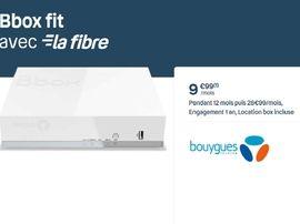 Bon plan : la fibre à 10 euros chez Bouygues Telecom avec la Bbox Fit