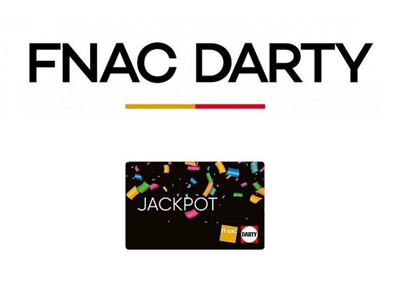 Fnac / Darty : économisez jusqu'à 60 euros avec les cartes cadeaux JackPot pendant les French Days