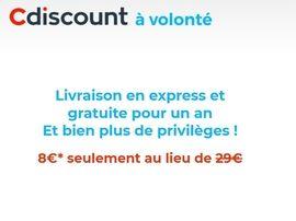 Bon plan : l'abonnement Cdiscount à Volonté passe à seulement 8 euros l'année