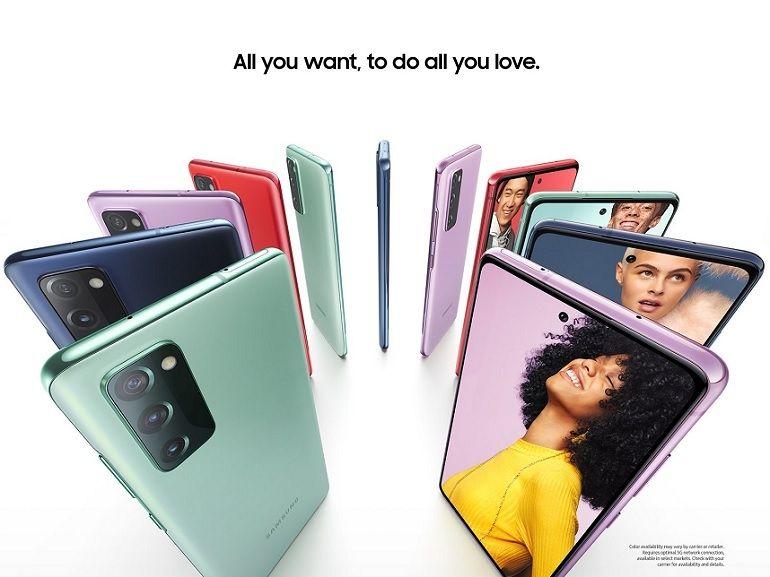 Samsung : le Galaxy S20 FE (5G) se dévoile avant sa présentation officielle