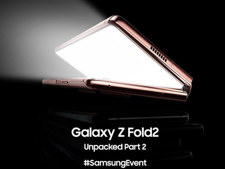 Galaxy Z Fold 2 : comment suivre en direct la présentation du nouveau smartphone pliant de Samsung