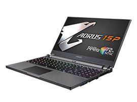 Gigabyte présente l'Aorus 15P, un PC portable pour les gamers qui mise sur l'affichage