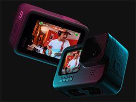 Hero9 Black : GoPro passe à la 5K et dote son action cam d'un second écran façon DJI