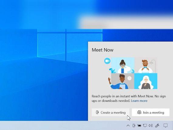 Meet Now, la visio sans inscription, bientôt sur Windows 10
