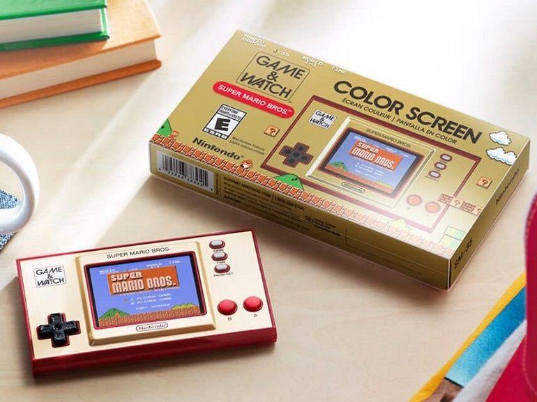 Une Nintendo Game & Watch collector à moins de 50€ pour les 35 ans de Super Mario Bros