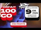 Forfait 100 Go à moins de 10 euros : la belle promo de NRJ Mobile