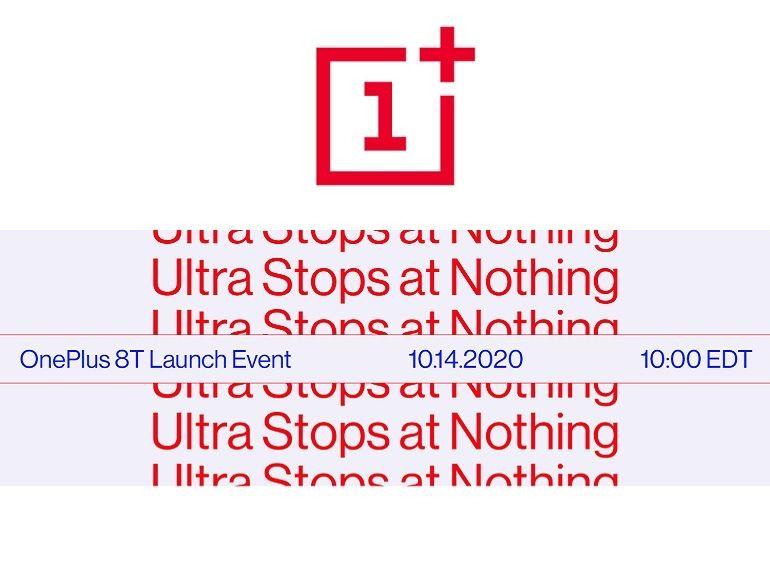 OnePlus 8T : présentation confirmée pour le 14 octobre à 16h