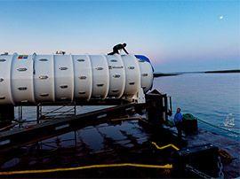 Photos : Microsoft sort son centre de données sous-marin après 2 ans de test