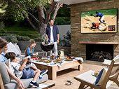 The Terrace : Samsung dévoile un TV d'extérieur à l'épreuve de la pluie