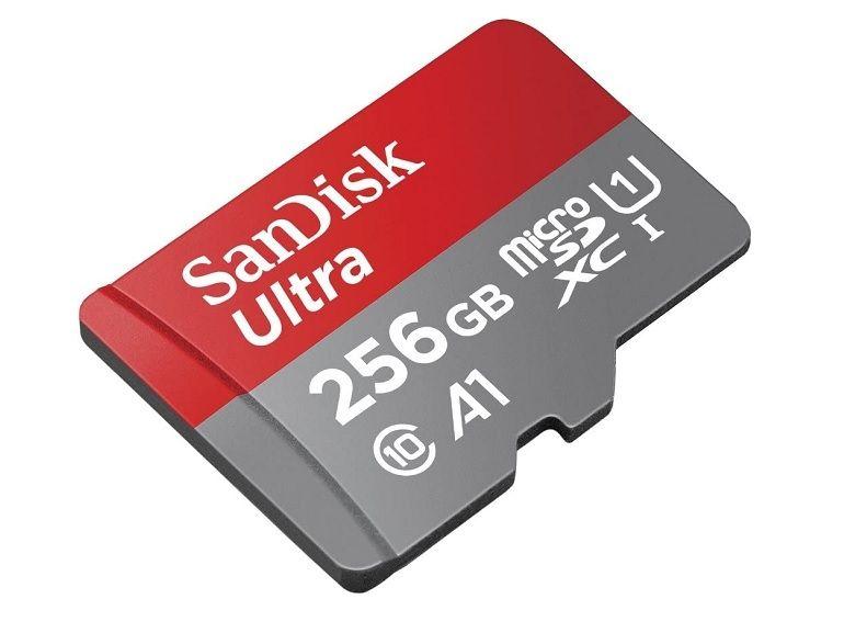 Bon plan : la carte microSD Sandisk Ultra 256 Go est à 35,99€ sur Amazon [-56%]