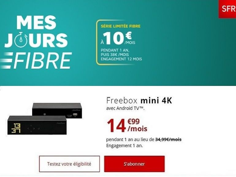 Fibre à moins de 15 euros : Free vs SFR, quel forfait internet choisir ?