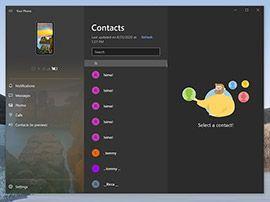 Windows 10 et Votre téléphone : Microsoft teste encore des améliorations
