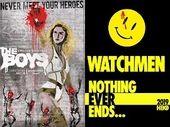 The Boys (Amazon Prime Video) vs. Watchmen (OCS) : quelle est la meilleure série ?