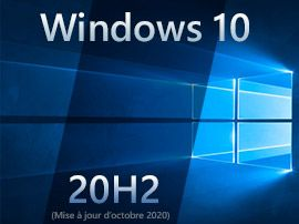 Windows 10 20H2 : la mise à jour d'octobre 2020 proposée en Release Preview