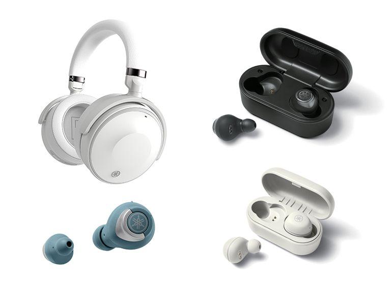 Yamaha dévoile un casque à réduction du bruit et trois paires d'écouteurs True Wireless