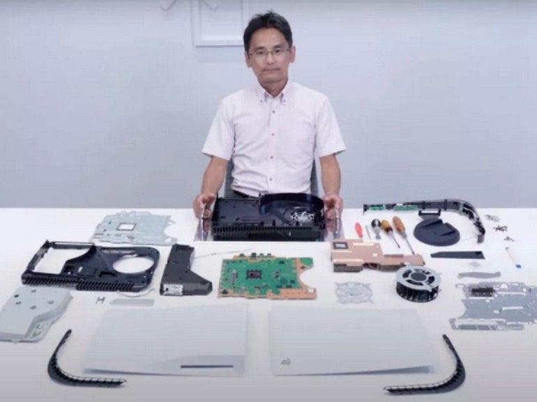 PS5 : Sony démonte sa console et nous en révèle les détails