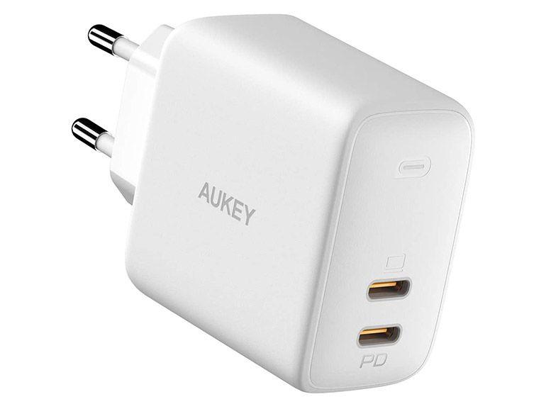 Bon plan : un chargeur secteur double USB-C Power Delivery 65W à 29,99€