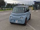 Poissy - Paris en Citroën Ami (30 km), on l'a fait