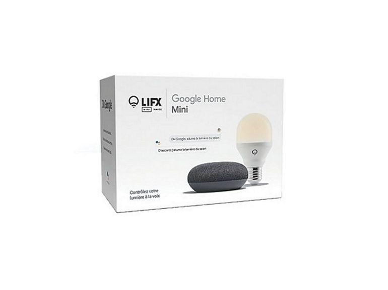 Bon plan : le pack Google Home Mini + ampoule connectée Lifx à 24,99€ sur Boulanger [-61%]