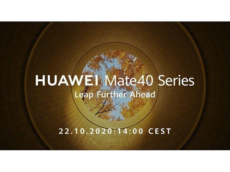 Huawei Mate 40 : rendez-vous le 22 octobre pour découvrir les nouveaux smartphones du fabricant