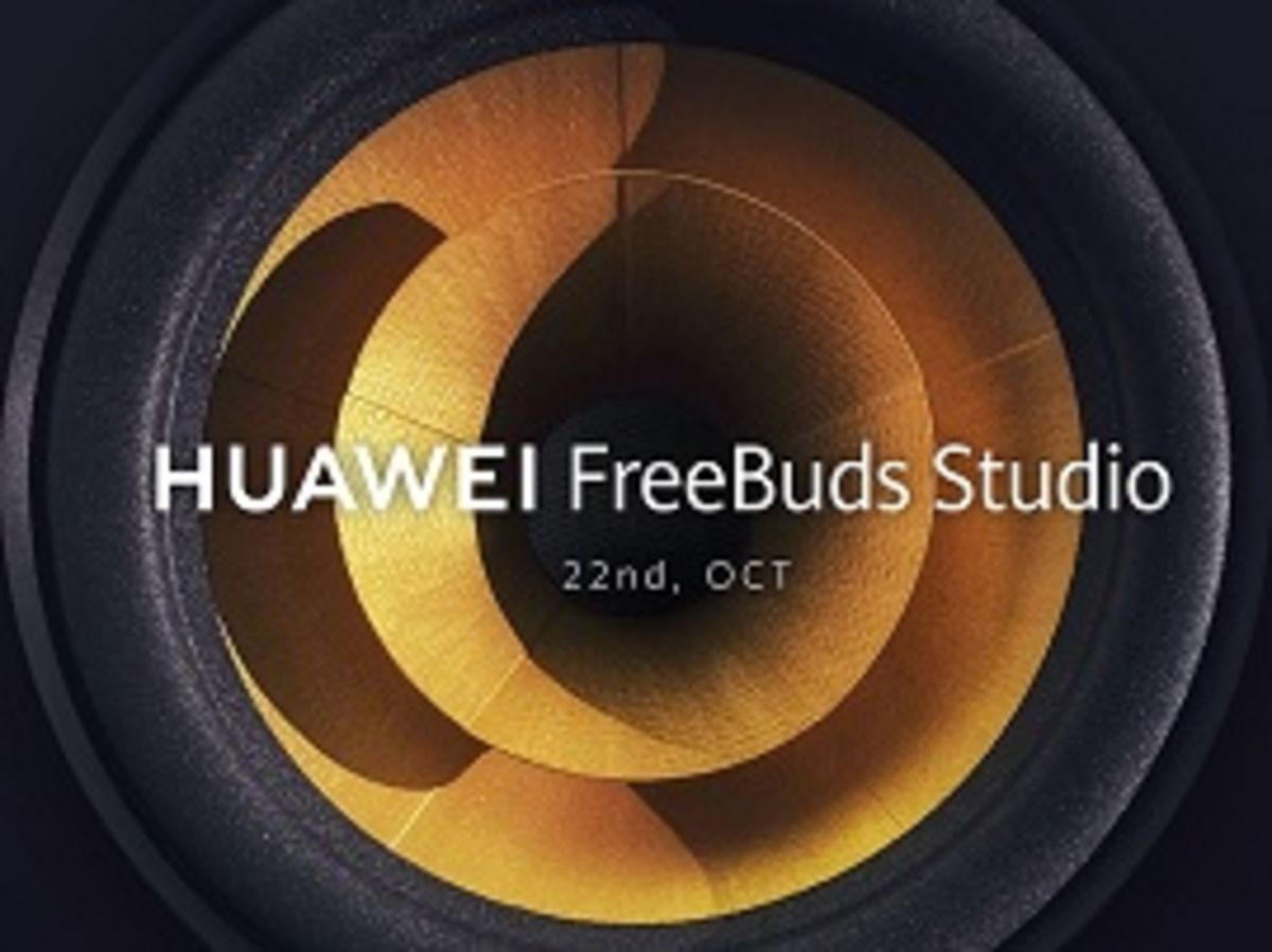 Huawei : le casque FreeBuds Studio sera annoncé le 22 octobre