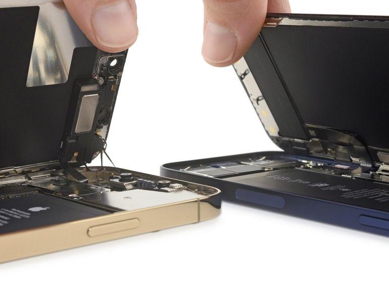 iFixit décortique les nouveaux iPhone 12 et 12 Pro, la conception est très proche