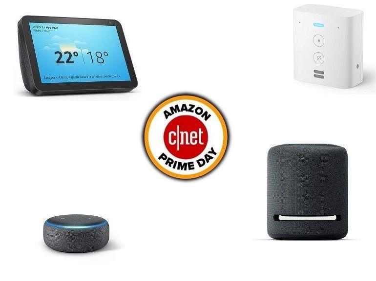 Prime Day : déjà le plein d'offres sur les enceintes et appareils connectés Amazon