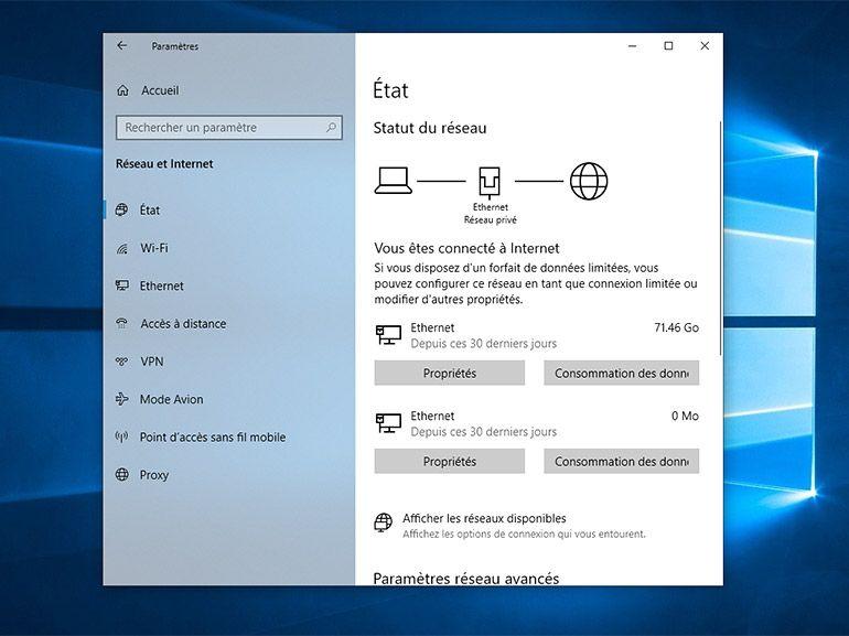 """Windows 10 : une mise à jour facultative corrige le problème """"pas d'accès internet"""""""