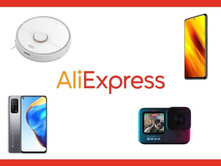 Huawei, Xiaomi, GoPro, Roborock... AliExpress casse les prix des incontournables de la high-tech !