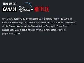 Avec Netflix et Disney+, Canal+ lance une nouveau pack pour les amateurs de séries