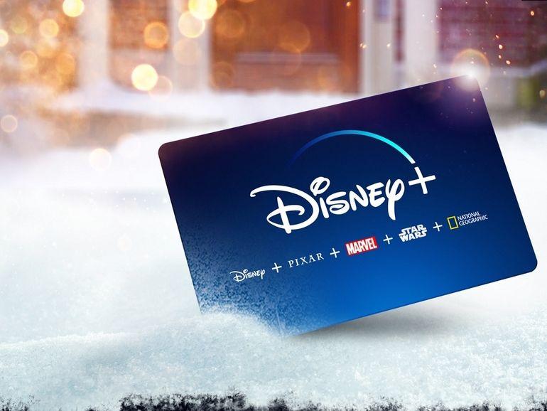 Si vous voulez offrir 1 an d'abonnement, Disney+ lance sa carte cadeau