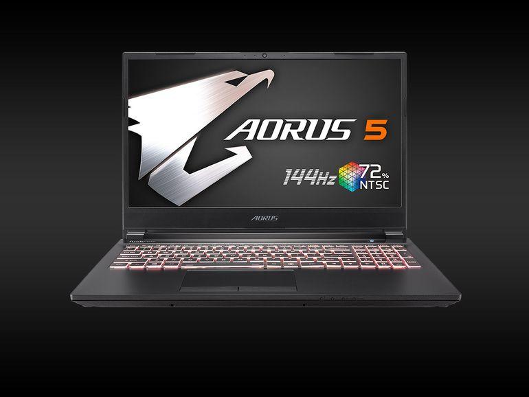 Gigabyte Aorus 5 SB : un portable gamer au bon rapport qualité-perf-prix