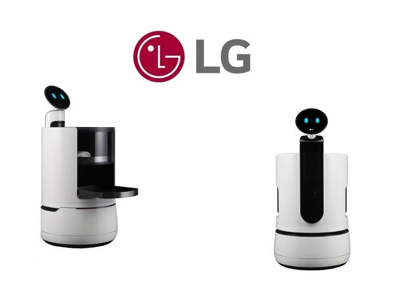LG CLOi Servebot, le robot qui transporte votre déjeuner