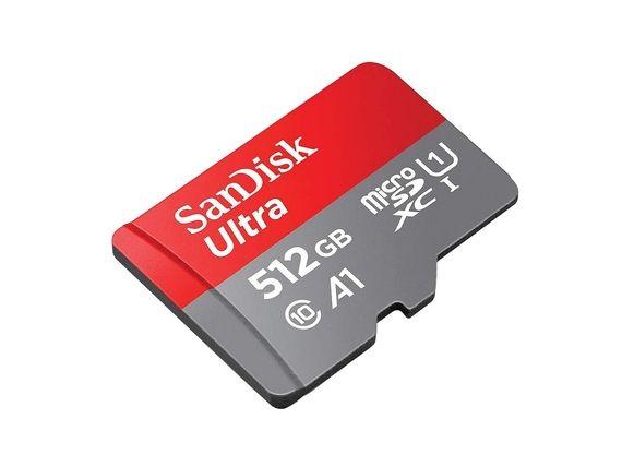 Bon plan : la carte SanDisk microSDXC Ultra 512 Go est à 49,99 € sur Amazon [-68%]