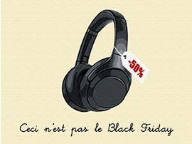 Ceci n'est pas le Black Friday : casques, enceintes écouteurs... les meilleures promos du weekend