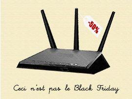 Ceci n'est pas le Black Friday : routeurs Wifi, répéteurs et accessoires réseau à prix remisé
