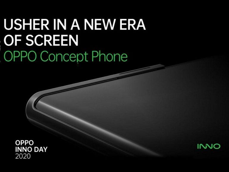 Oppo : un smartphone avec écran enroulable présenté le 17 novembre ?