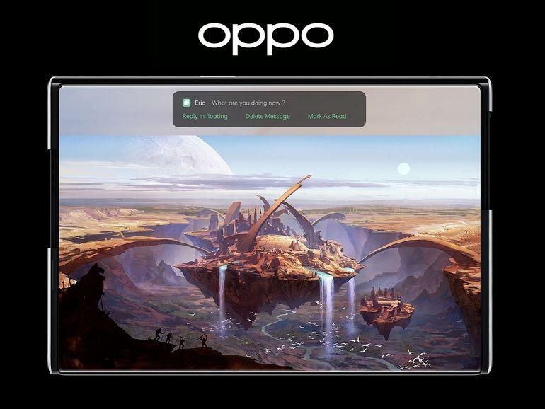 Oppo Inno Day 2020 : un smartphone à écran enroulable et des lunettes de réalité augmentée au menu