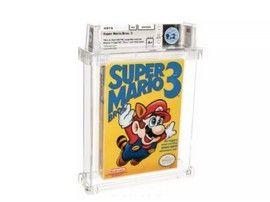Vente record pour une édition scellée de Super Mario Bros. 3