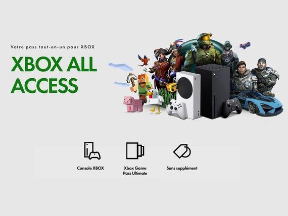 """Xbox all Access : retirez votre console chez Micromania avec le """"click and collect"""""""