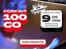 Forfait et Black Friday : que vaut l'offre 100 Go à 9,99€ de NRJ Mobile ?